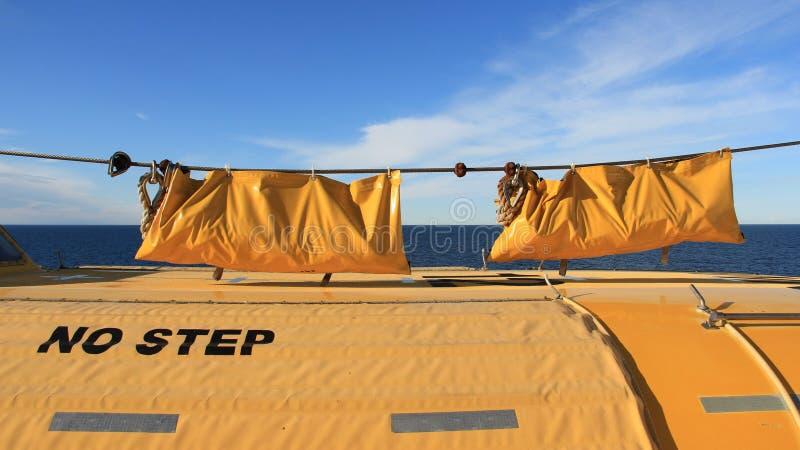 Lifebuoy I Lifeboat obrazy royalty free