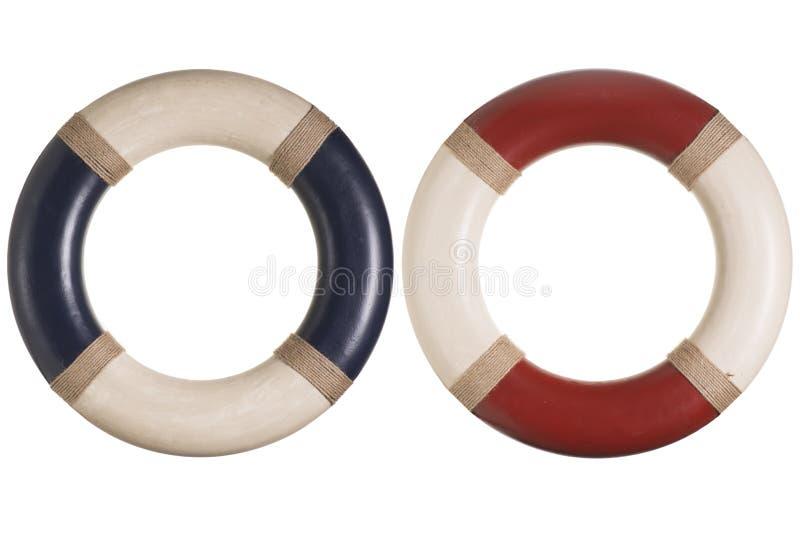 Lifebuoy lub życie pierścionek obrazy royalty free