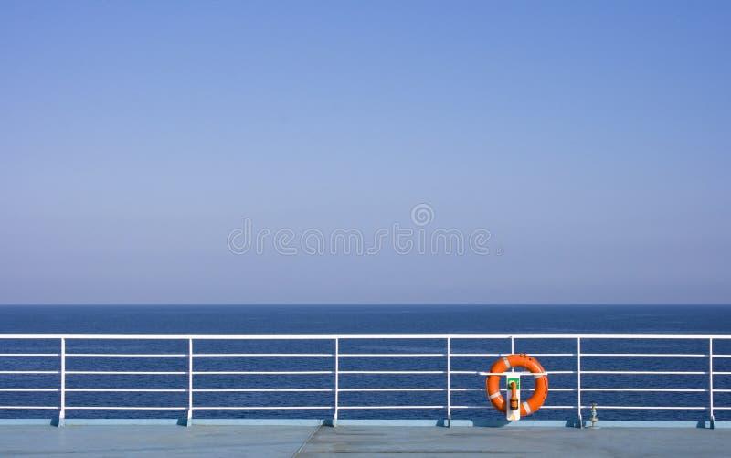 Lifebuoy on Ship royalty free stock images