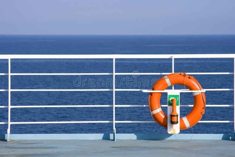 lifebuoy statek obrazy stock