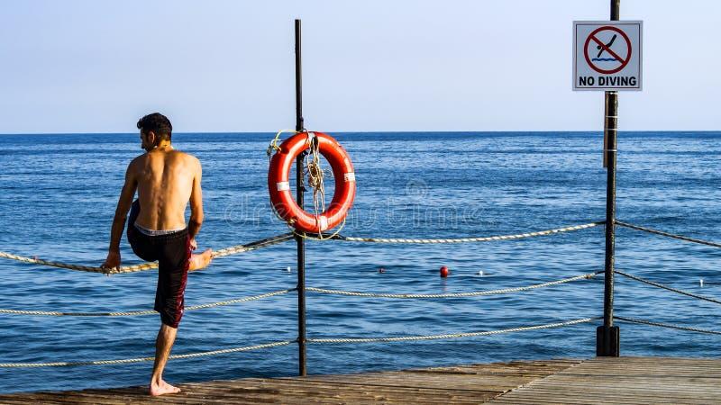Lifebuoy sytuacja awaryjna i okrąg obraz royalty free