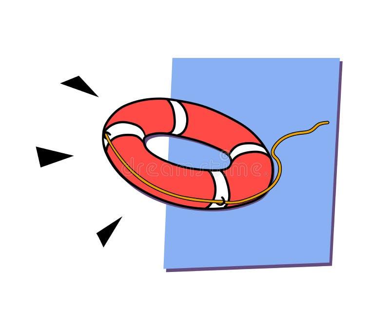 Download Lifebuoys ilustración del vector. Ilustración de gente - 42427565