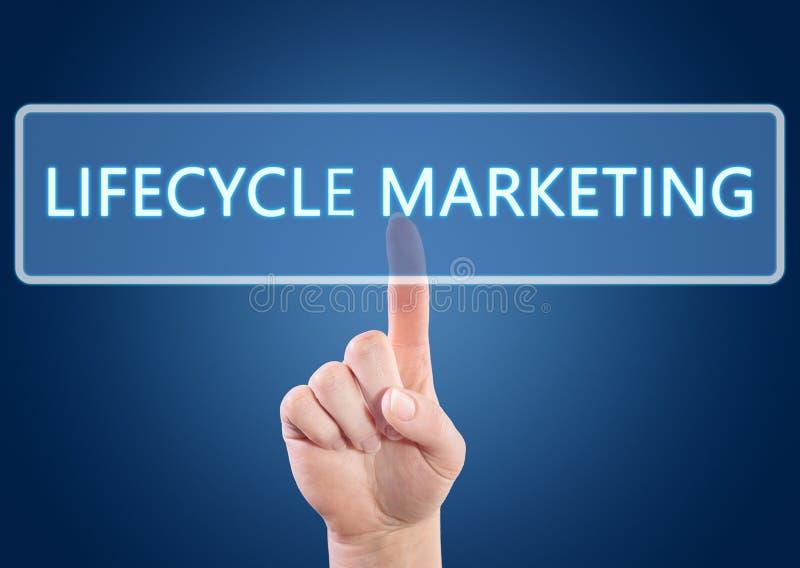 Lifecyclemarknadsföring royaltyfri illustrationer