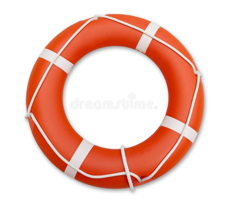 Lifeguard, που απομονώνεται στο άσπρο υπόβαθρο στοκ εικόνες