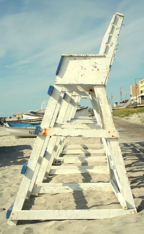 lifeguard πύργος στοκ εικόνες