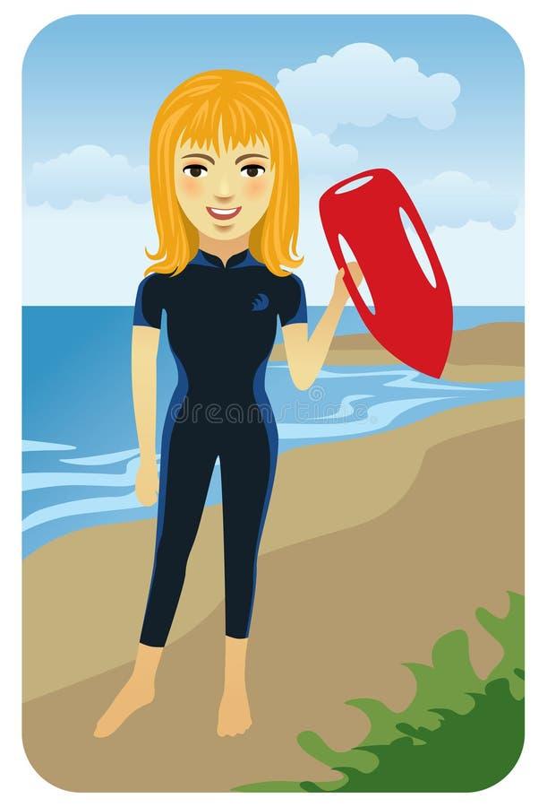 lifeguard σειρά επαγγέλματος απεικόνιση αποθεμάτων