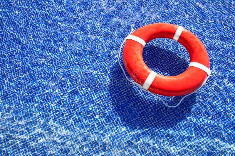 Lifeguard στη λίμνη στοκ φωτογραφίες