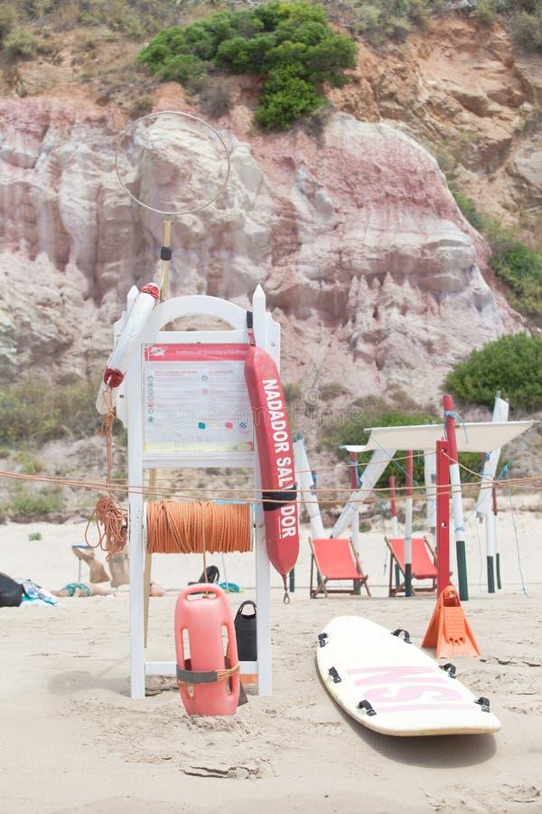 lifeguard royalty-vrije stock afbeeldingen