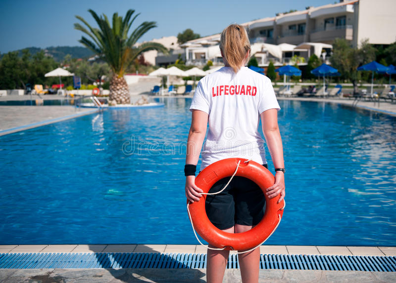 Lifeguard royalty free stock images