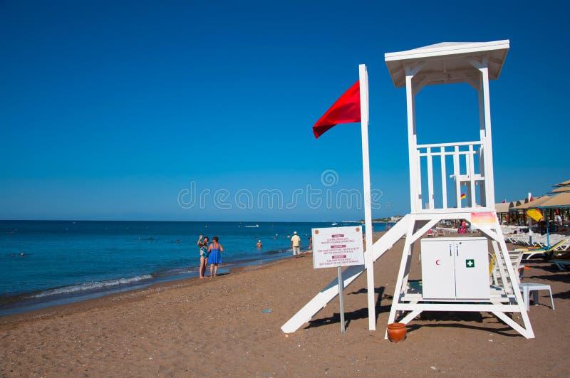 lifeguard royalty-vrije stock afbeelding