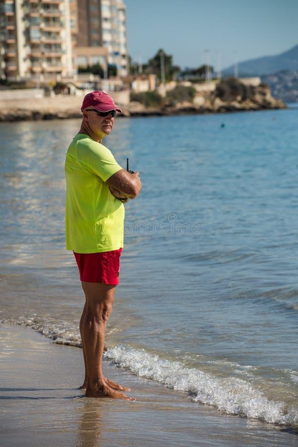 lifeguard royalty-vrije stock foto's