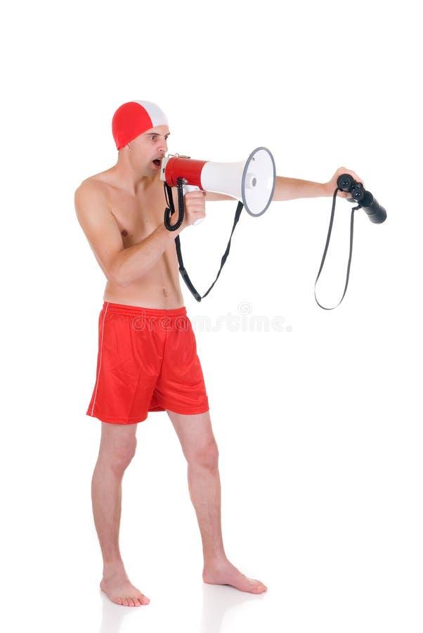 Lifeguard imagens de stock royalty free