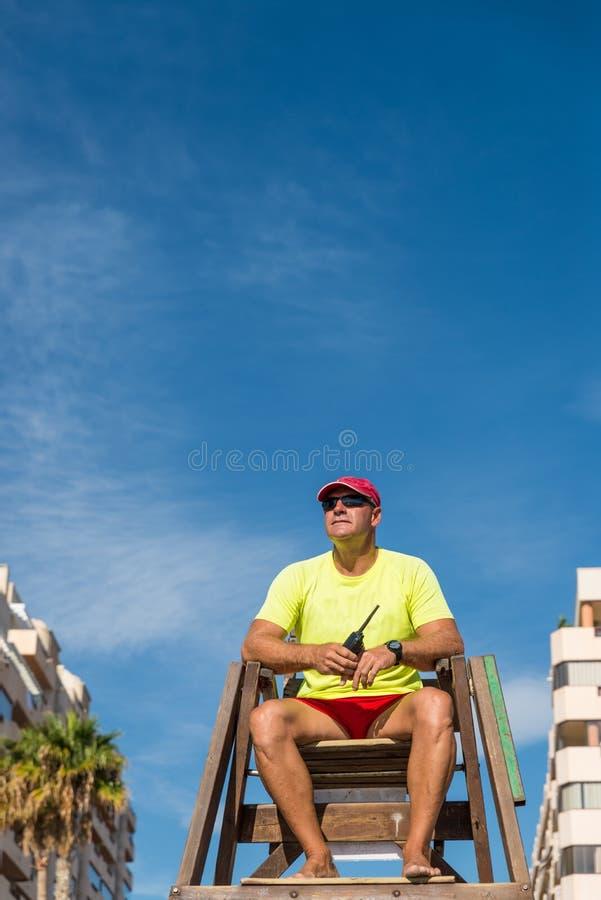 lifeguard royalty-vrije stock foto
