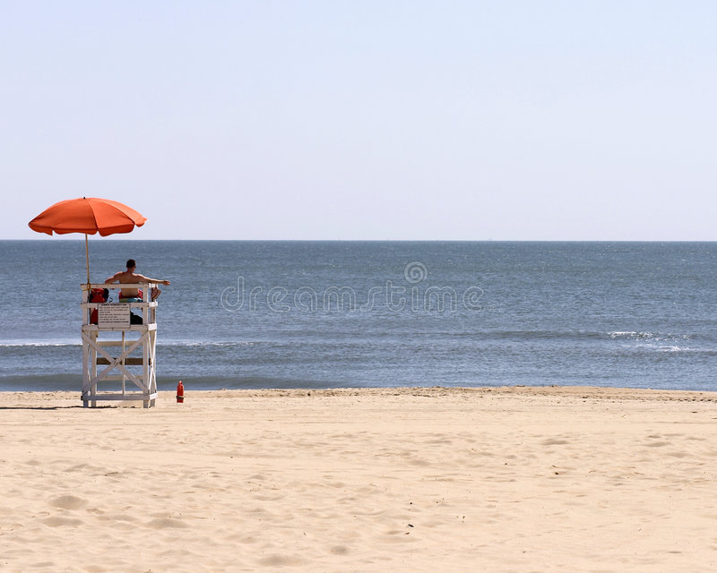 Lifeguard royalty free stock photography