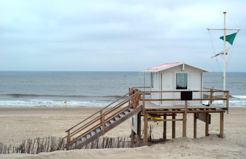 Lifeguard beach station stock photos