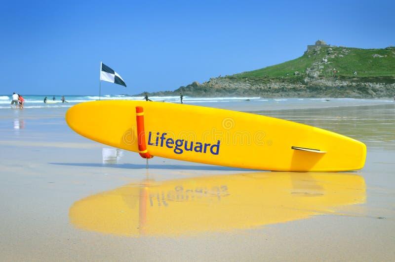 Download Lifeguard board stock photo. Image of blue, sand, savior - 27587686