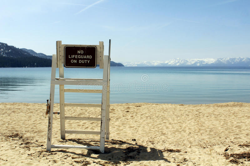Download Lifeguard chair stock image. Image of empty, sandy, tahoe - 24468793