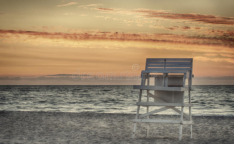 Lifeguard Chair Stock Photography