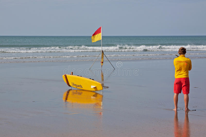 Download Lifeguard editorial photo. Image of dangerous, breaker - 34528041
