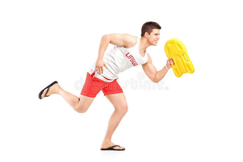 Download Lifeguard on duty stock image. Image of safe, hurry, fullbody - 24443479