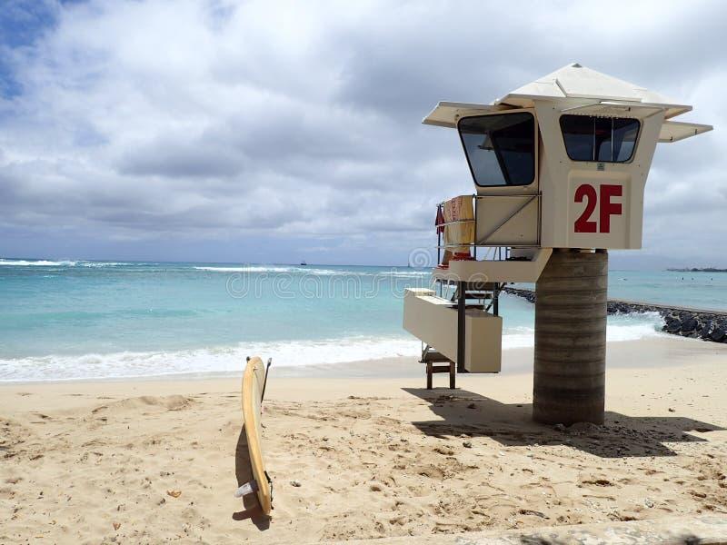 Lifeguard 2F royalty free stock image