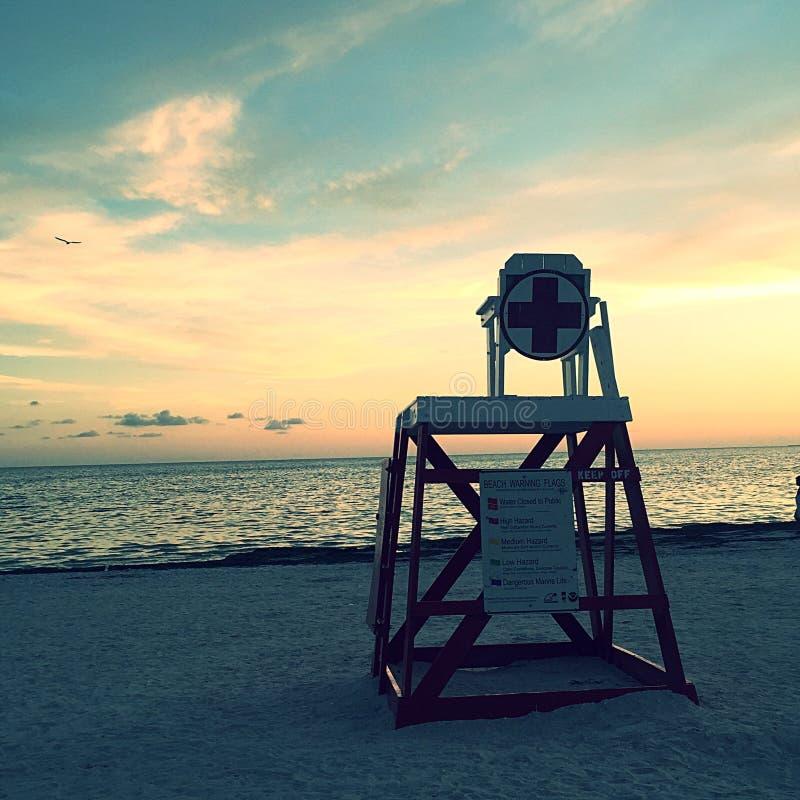 Lifeguard fora de serviço fotos de stock royalty free