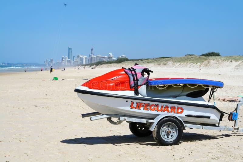 Download Lifeguard Jet Ski stock photo. Image of jacket, colorful - 25959692
