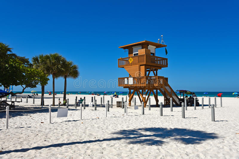 Lifeguard Observation Tower royalty free stock photos
