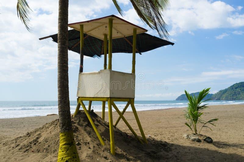 Lifeguard post stock photos