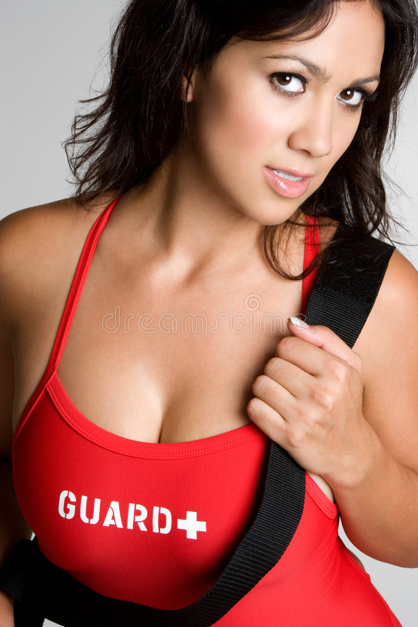 Lifeguard 'sexy' foto de stock