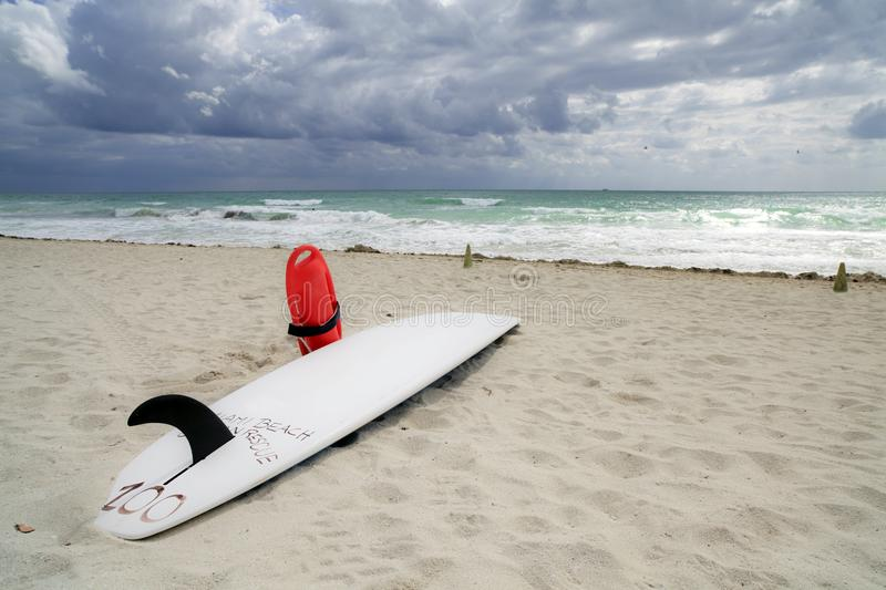 Download Lifeguard Surfboard stock image. Image of nature, bathing - 14084757
