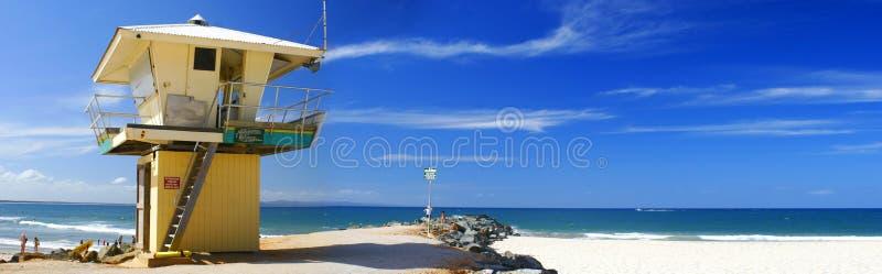 Lifeguard Tower royalty free stock image