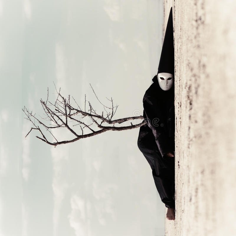 lifeless Imagen de la vertical del arte imagenes de archivo