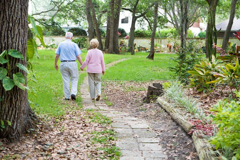 Download Lifes Journey Together stock photo. Image of garden, holding - 5547620