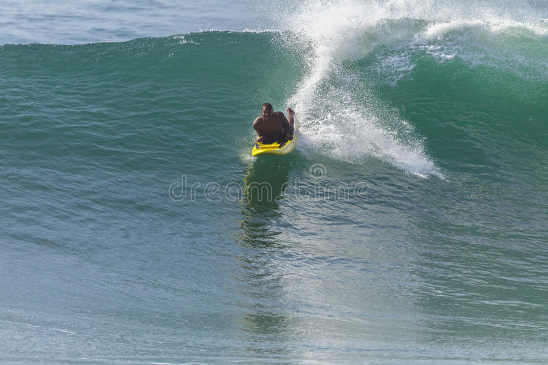 LifeSaver Rescue Ski Craft Waves Surfing royalty free stock photo