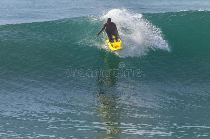 LifeSaver Rescue Ski Craft Waves Surfing royalty free stock image