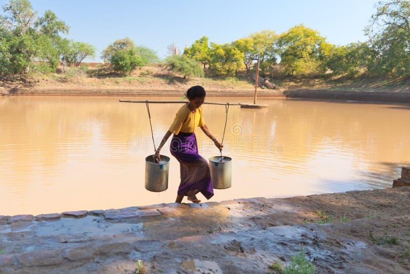 Lifestyle in Bagan, Myanmar stock images