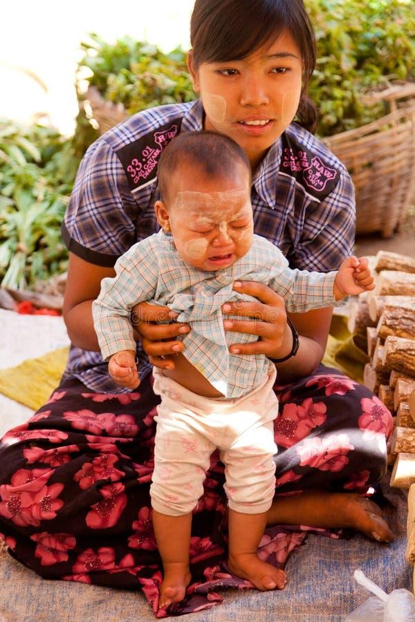 Lifestyle in Bagan, Myanmar royalty free stock image