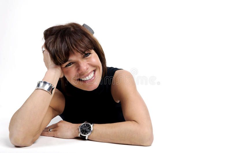 Download Lifestyle Business Women Over White Stock Photo - Image: 19684902
