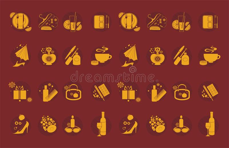 Download Lifestyle icons stock vector. Illustration of fashion - 31158403