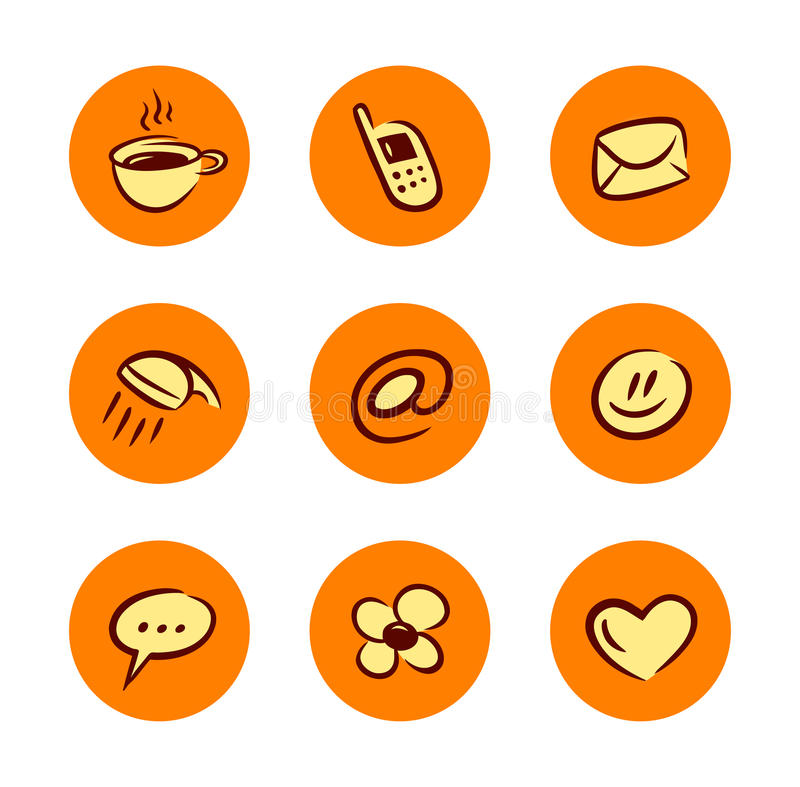Download Lifestyle Icons Set Royalty Free Stock Image - Image: 12115096