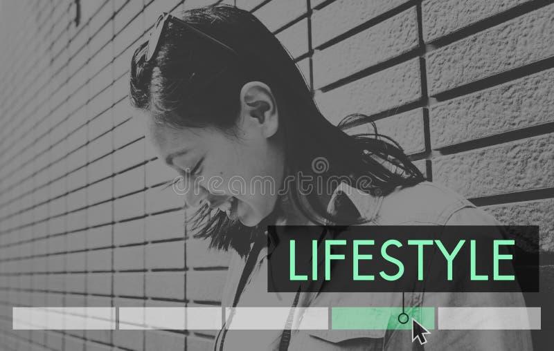 Lifestyle Leisure Recreation Activity Icon stock photography