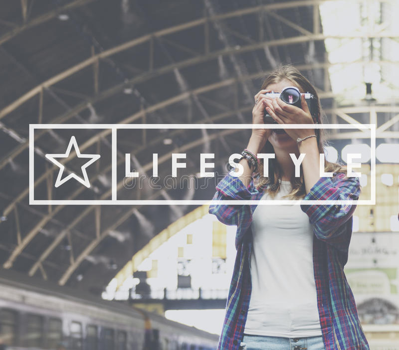 Lifestyle Simplicity Habits Life Concept royalty free stock photography