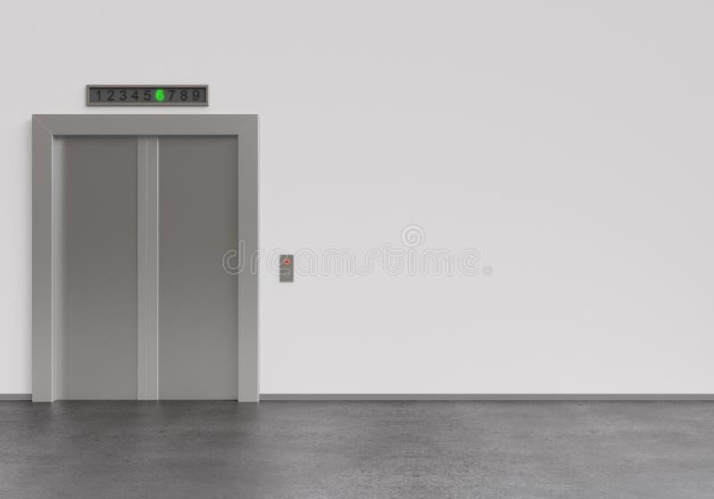 Lift vector illustratie