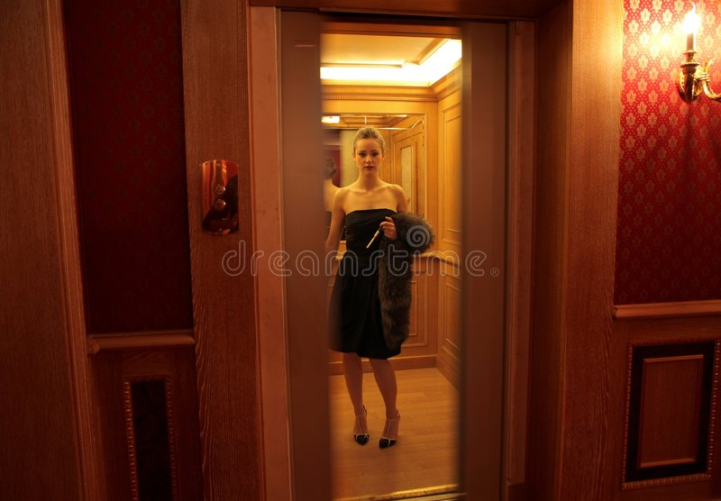 Lift royalty-vrije stock foto