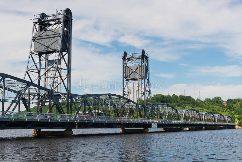 Lift Bridge Stock Photography
