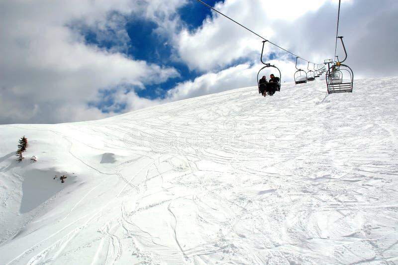 lift ski στοκ φωτογραφία