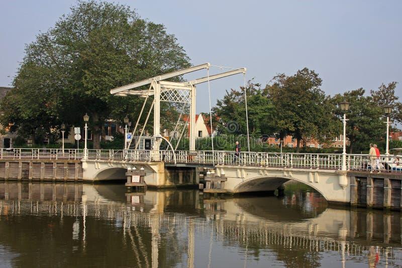 Download Lifting bridge stock photo. Image of netherlands, river - 24883112