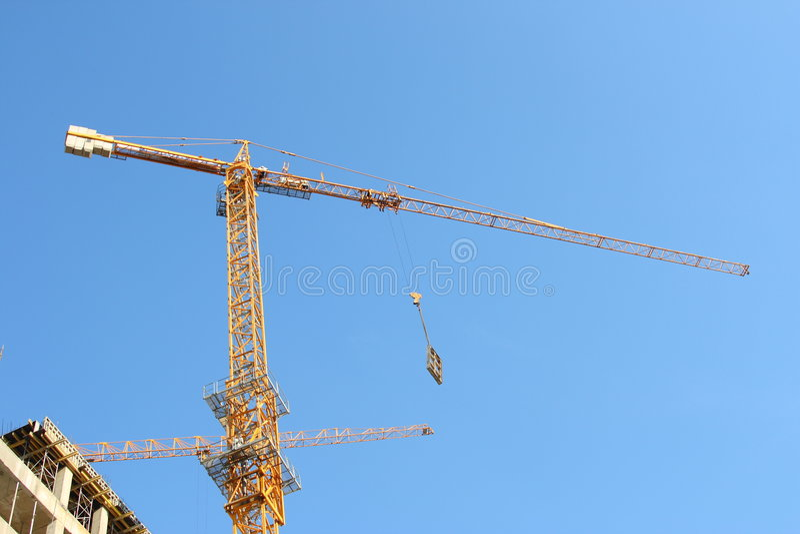 Lifting crane royalty free stock image