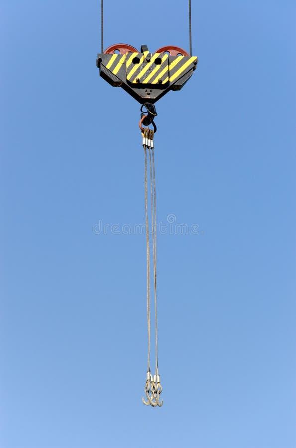 Download Lifting crane hook stock image. Image of development, yard - 4927409